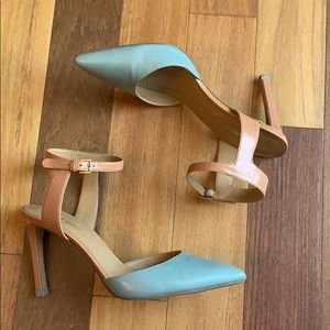 ✨ Nine West Blue Sandals